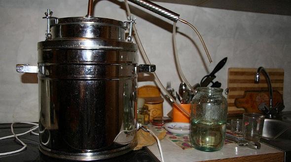Домашний мини спирт-завод. Изготовление этилового 7
