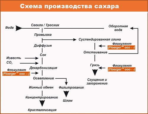 Производство тростникового